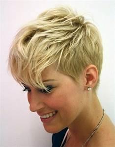 Coupe Courte De Cheveux Femme : 114 magnifiques photos de coiffure courte ~ Dallasstarsshop.com Idées de Décoration