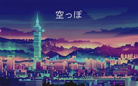 purple aesthetic anime wallpapers