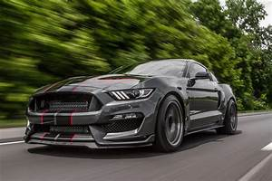 Tire-Shredding Twin-Turbo Shelby GT350 Puts Down 1,056 HP
