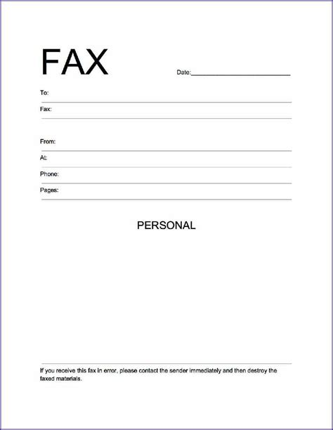 fax cover letter sle setting out a cover letter 28