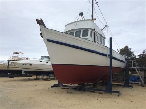 Trawler Fishing Boats For Sale by 1983 Pompei Trawler For Sale Trade Boats Australia