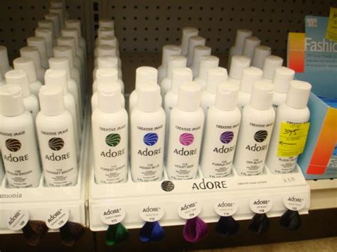 Adore Creative Image Semi Permanent Hair Color Products