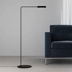 Lumina flo lounge led floor lamp reading light for Floor lamp 100cm