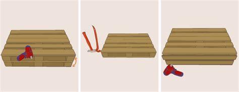 fabriquer canapé palette fabriquer un canapé en palette canapé