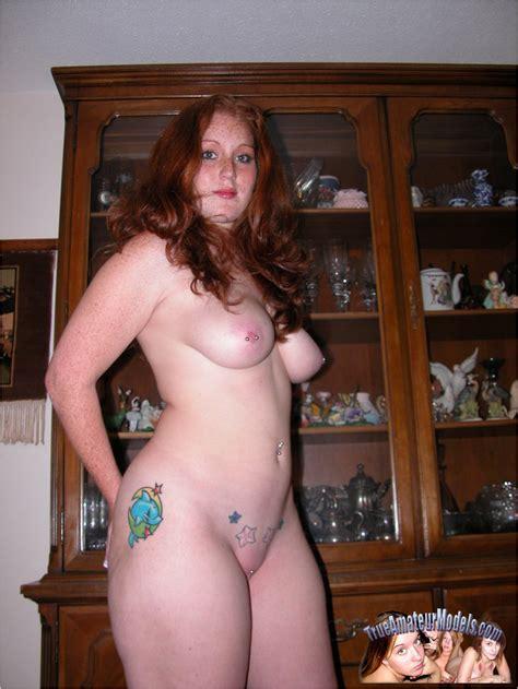 Celeste Busty Redhead True Amateur Model