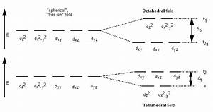 What Makes Tetrahedral And Octahedral Transition Metal