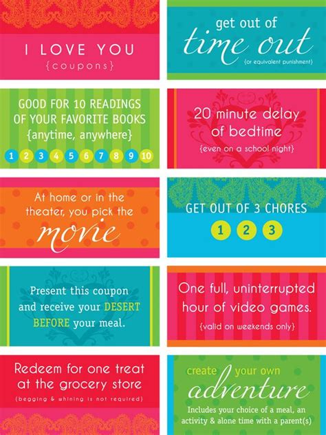 Best 25+ Love Coupons Ideas On Pinterest  Coupon Books
