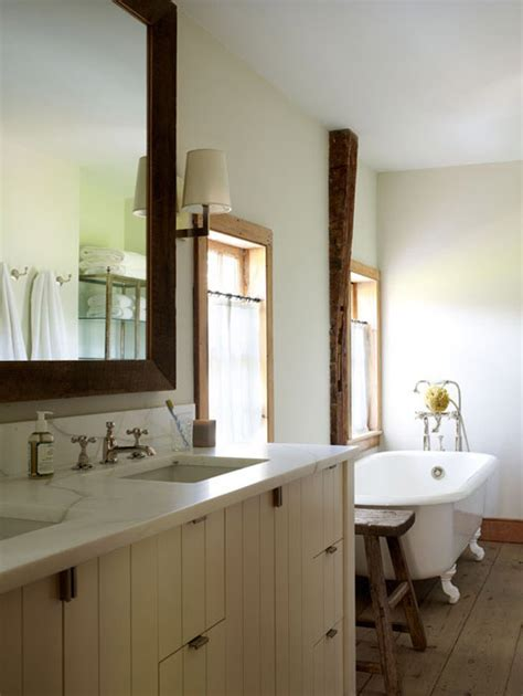 Farmhouse Bathroom   Country   bathroom   Oak Hill Architects