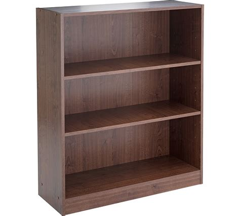 Buy Home Maine Small Extra Deep Bookcase  Walnut Effect
