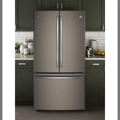 ge profile  cuft french door refrigerator slate pwekmkes ge appliances