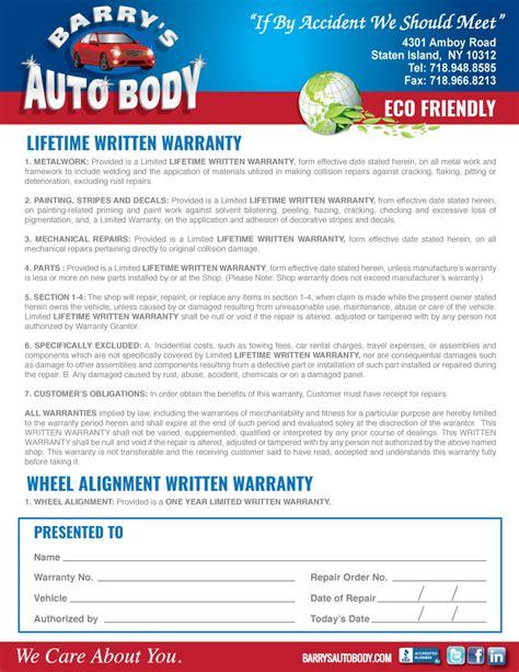 warranty collision repair  staten island barrys auto
