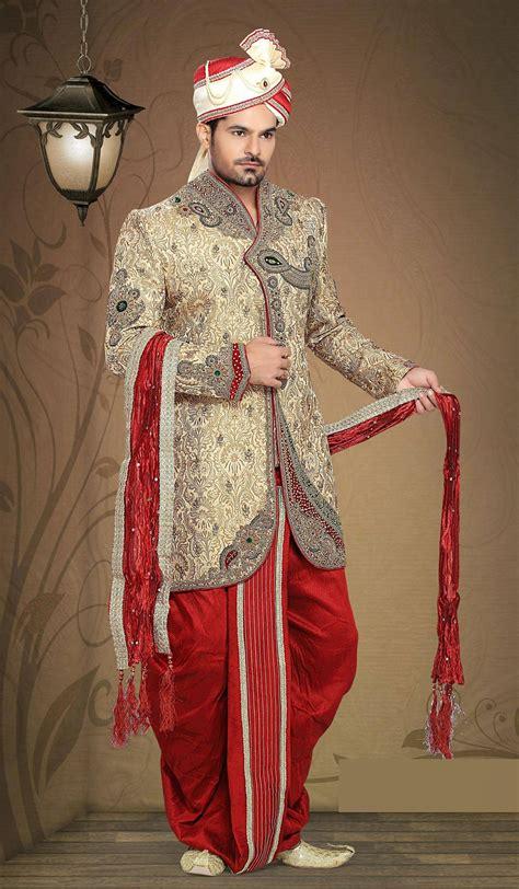 latest  indo western dresses  groom  enhanced