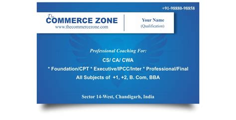 coaching institute business card logos graphics