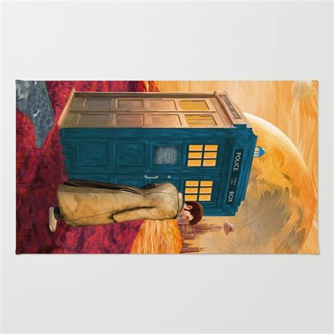 doctor   gallifrey planet rug rugs
