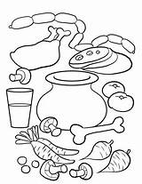 Soup Stone Coloring Pages Preschool Activities Printable Worksheet Worksheets Sheets Story Template Crafts Pot Kindergarten Arts Writing Stones Strega Nona sketch template