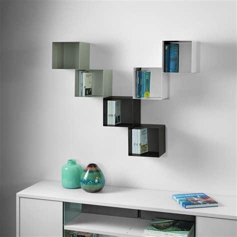 mensole in legno colorate combinazione b cubo librerie colorate 0 76 arredo