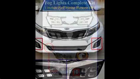 Kia Optima Led Fog Light Lamp Complete Kit