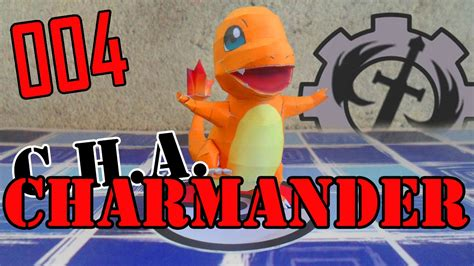 como hacer  charmander parpercraft youtube