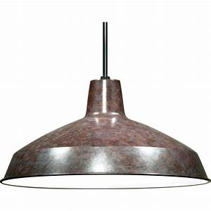 Nuvo light quot warehouse shade pendant
