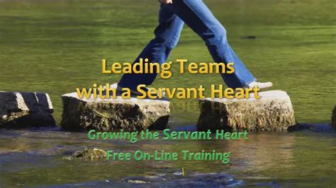 gtsh leading teams   servant heart christian