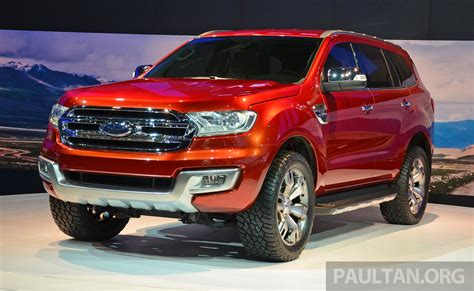 Ford Everest by Ford Everest Concept Unveiled At 2014 Bangkok Motor Show