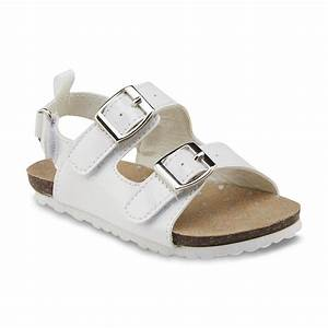 OshKosh Toddler Girl's Teegan White Sandal - Shoes - Baby ...