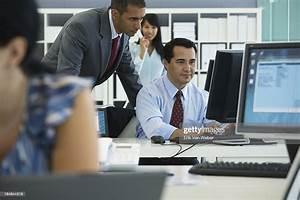 Many, People, Working, In, Lg, Open, Modern, Office, Space, High-res, Stock, Photo