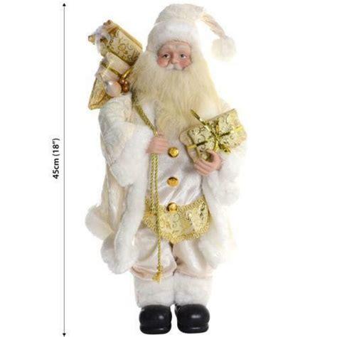 ecu christmas skirt standing santa other decoration ebay