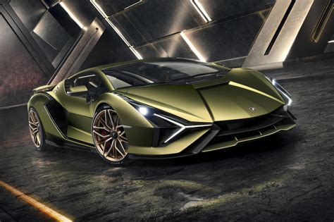 Introducing the Lamborghini Sián - the fastest hybrid car ...