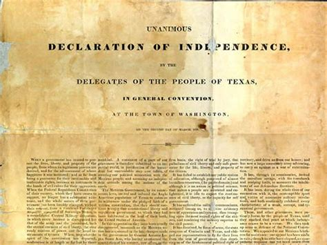 texas independence day lone star state turns  cbs news