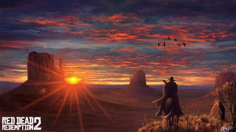 red dead redemption  fanart  hd games  wallpapers images backgrounds   pictures