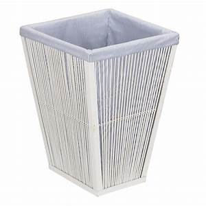 Shop Household Essentials Wicker Clothes Hamper at Lowes com