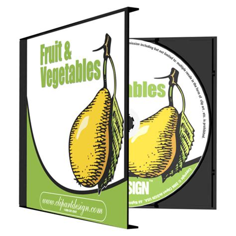fruit vegetables clipart vinyl cutter plotter images eps