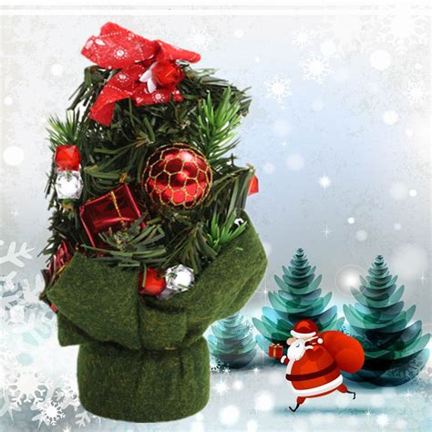 20cm multicolor christmas decorations gifts mini christmas