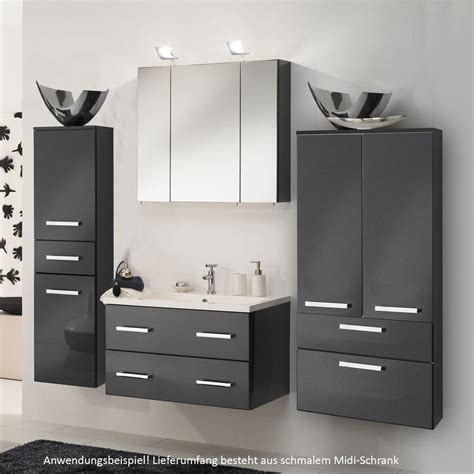 Moderne Badezimmer Schränke badezimmer wand schrank midischrank bad badezimmerschrank