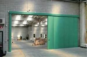 Porte Coulissante Grande Largeur : portes coulissantes industrielles tous les fournisseurs ~ Dailycaller-alerts.com Idées de Décoration