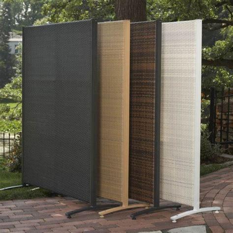 Backyard Screens by Versare Outdoor Wicker Resin Divider Patio Furniture