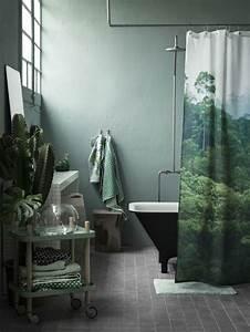 Plante Verte Salle De Bain : quelle couleur salle de bain choisir 52 astuces en photos ~ Melissatoandfro.com Idées de Décoration