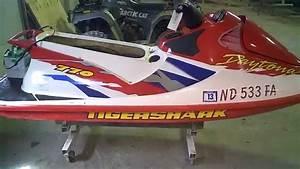 Lot 1851a 1997 Tigershark Daytona 770 Running Tear Down
