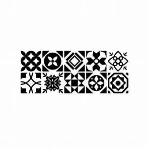 Stickers Carreaux Cuisine : motif carreau de ciment ~ Preciouscoupons.com Idées de Décoration