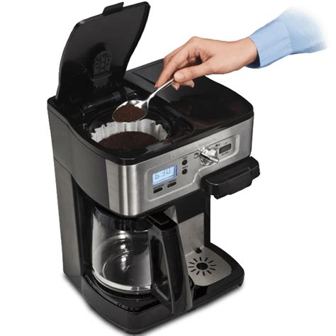 Parts & accessories keep your hamilton beach products working efficiently with our replacement parts and accessories. Hamilton Beach FlexBrew 2-Way Coffee Maker (Refurbished)