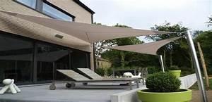 Voile Pour Terrasse : voilage exterieur pour terrasse top ides de pergola ~ Premium-room.com Idées de Décoration