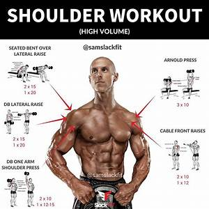 High Volume Shoulder Workout - Weight Easy Loss