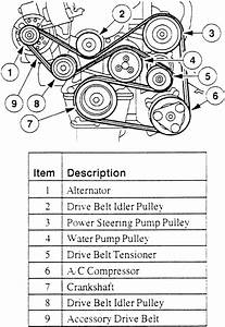 Ford Escort Drive Belt Routing Diagram