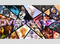 Overwatch Wallpaper Speedart YouTube