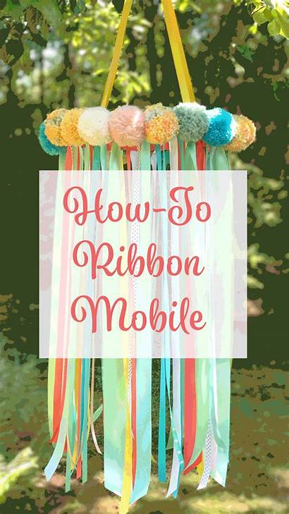 Ribbon Mobile Decorate Offray Supplies Christmas Diy
