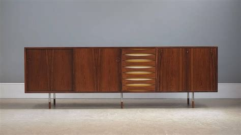 Arne Vodder Sideboard by Arne Vodder Triennale Sideboard For Sale At 1stdibs
