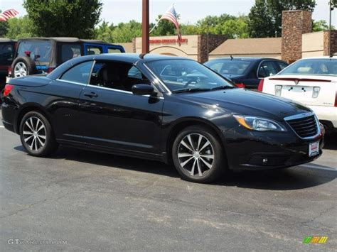 2012 Chrysler 200 S by Black 2012 Chrysler 200 S Top Convertible Exterior