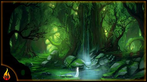 Mysterious Fantasy Music | Magical Glade | Beautiful ...