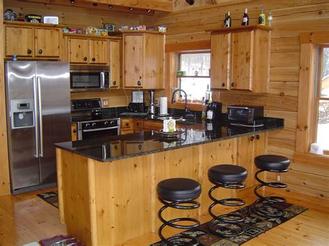kitchen ls ideas log cabin kitchens with modern and rustic style